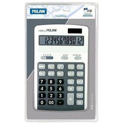 Kalkulator Milan 12 pozycyjny, szary