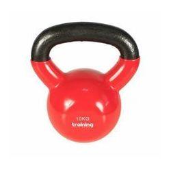 TSR Hantla Kettlebell Winylowa- Czerwony, 10 kg - 10 kg