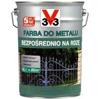 Farby, Farba do metalu V33 bezpośrednio na rdzę matowy ciemny grafitowy 5 l