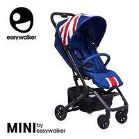Wózki spacerowe, MINI by Easywalker Buggy XS Wózek spacerowy z osłonką przeciwdeszczową Union Jack Classic