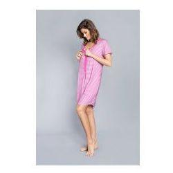 Koszula z rewersem Italian Fashion - Sitia Różowa