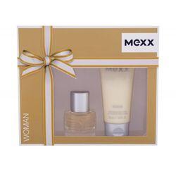Mexx Woman zestaw Edt 20 ml + Mleczko do ciała 50 ml dla kobiet