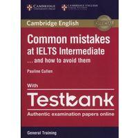 Książki do nauki języka, Common Mistakes IELTS intermediate with Testbank - Dostawa 0 zł (opr. miękka)