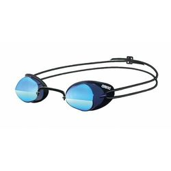 arena Swedix Mirror Okulary pływackie szary/niebieski 2018 Okulary do pływania
