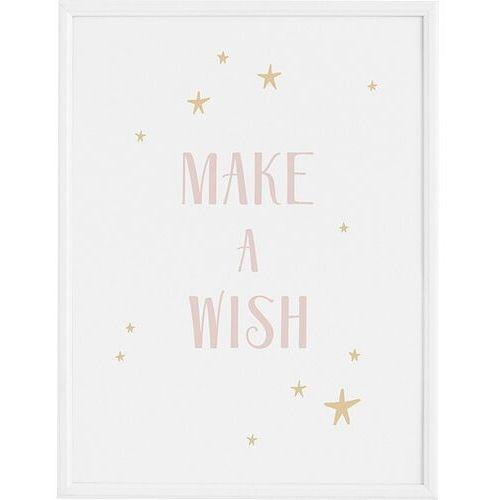Plakaty, Plakat Make a Wish 21 x 30 cm