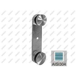 Mocowanie boczne-punktowe do szkła AISI304, K320,