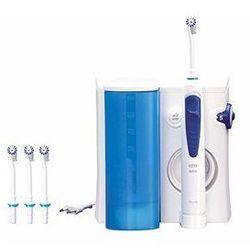 Kolor Biało-niebieski Załączone wyposażenie Dysze Zamykany pojemnik na wymienne dysze Funkcje Regulacja strumienia wody 5 stopni Rodzaj strumienia Z mikrobąbelkami Spiralny Prosty Techniczne Inne Ciśnienie wody irygatora: do 3.8 bar