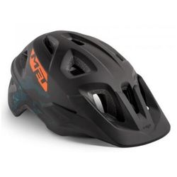 MET Eldar Kask rowerowy Dzieci, black camo 52-57cm 2020 Kaski dla dzieci