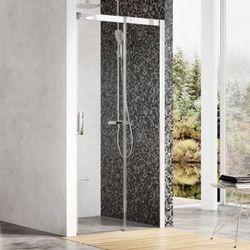 Ravak Matrix drzwi prysznicowe MSD2 - 120 L, wys. 195 cm, Satyna + Transparent 0WLG0U00Z1