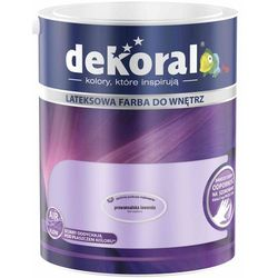 Farba Lateksowa Akrylit W Kolor Prowansalska Lawenda 5l Dekoral