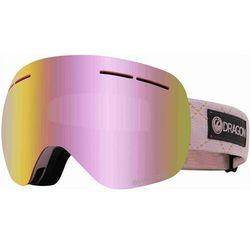 gogle snowboardowe DRAGON - Dr X1S Bonus Blush Llpinkion+Lldksmk (682) rozmiar: OS