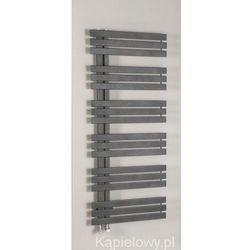SILVANA grzejnik łazienkowy 500x1236mm stalowy, metaliczny antracyt 561W IR154