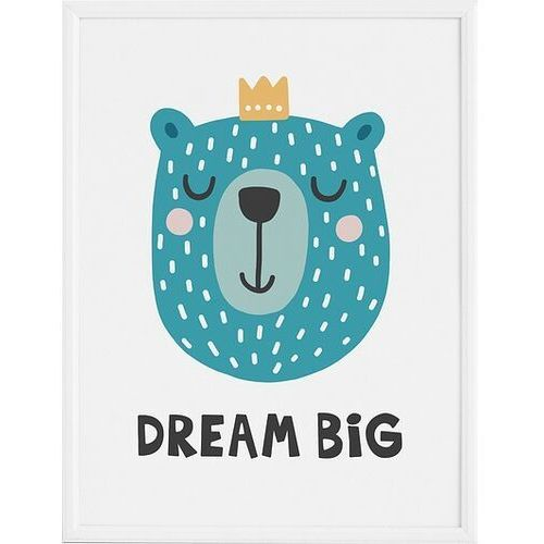 Plakaty, Plakat Dream Big 70 x 100 cm