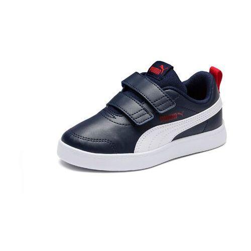 Pozostałe obuwie dziecięce, Puma buty chłopięce Courtflex v2 V PS 37154301, 30 niebieskie