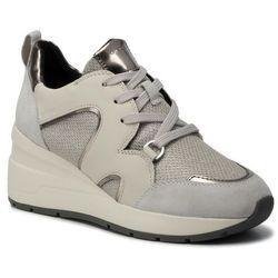 Sneakersy GEOX - D Zosma A D948LA 0DV85 C0628 Silver/Off Wht