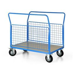 Wózek platformowy z drucianymi bokami, 1200x800 mm