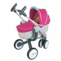 Wózki dla lalek, Smoby MC&Q Wózek głęboki 3 kołowy
