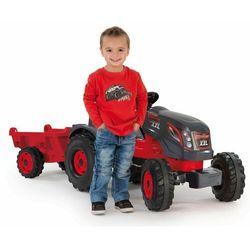 Smoby traktor na pedały Stronger XXL z wózkiem