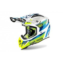 AIROH KASK OFF-ROAD AVIATOR 2.3 AMS2 NOVAK CH BLUE