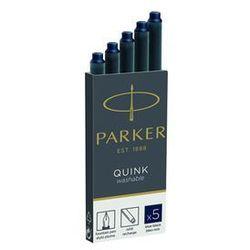 Parker naboje niebiesko-czarne 5 szt. (1950385) Darmowy odbiór w 21 miastach!