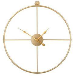 Zegar ścienny złoty ZUCHWIL