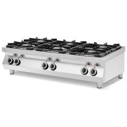 Kuchnia gazowa 6-palnikowa stołowa Kitchen Line