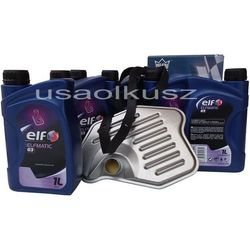Filtr oraz olej ELF G3 automatycznej skrzyni biegów Lincoln Mark VIII 1996-1998