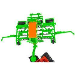Zestaw 2 ciągników z maszynami - prasa, siewnik - Mały Rolnik