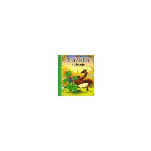 Książki dla dzieci, FRANKLIN ŚWIĘTUJE. SERIA KWADRATOWA (opr. miękka)