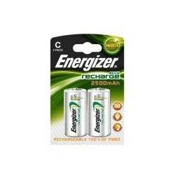 2 x akumulatorek Energizer R14 C Ni-MH 2500mAh