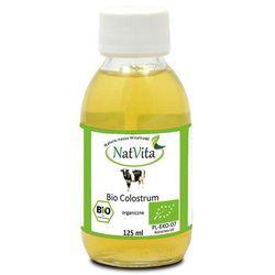 Bio Colostrum IgG 35% w płynie organiczne 125ml NatVita