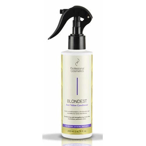 Odżywianie włosów, Profesional Cosmetics BLONDEST ANTI-YELLOW CONDITIONER Odżywka do włosów blondów przeciw zażółceniom