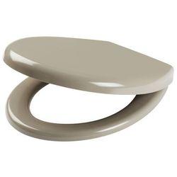 Deska WC Tivella wolnoopadająca z duroplastu taupe