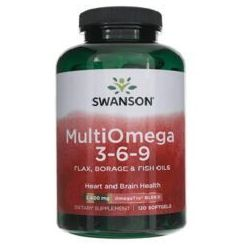 Swanson MultiOmega 3-6-9 120 kaps