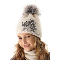 Czapka zimowa dla dziewczynki 4X35AL Oferta ważna tylko do 2022-10-17