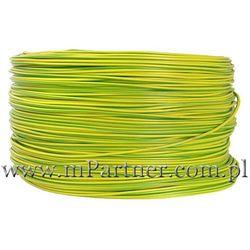 Przewód LGY 1x1,50mm żółto-zielony 100m