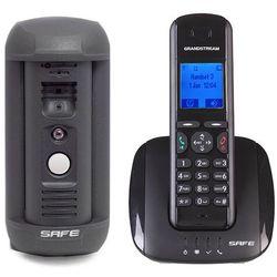 Wideodomofon IP ZESTAW SAFE IP S03PM + bezprzewodowa słuchawka DP715S