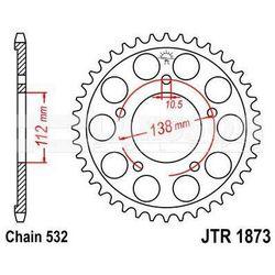 Zębatka tylna stalowa JT 1873-48, 48Z, rozmiar 532 2300906 Yamaha YZF-R6 600
