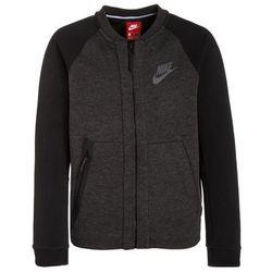 Nike Performance TECH FLEECE Bluza rozpinana black heather/black/anthracite