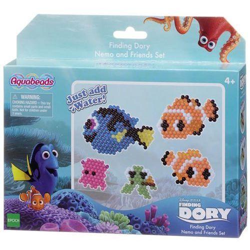 """Kreatywne dla dzieci, Aquabeads Zestaw """"Gdzie jest Dory"""" 30108 - Nemo i przyjaciele"""