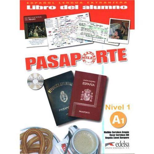 Książki do nauki języka, Pasaporte 1 Podręcznik + CD (opr. broszurowa)