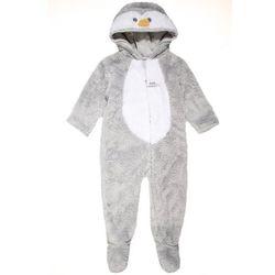 mothercare UNISEX PENGUIN FLUFFY DRESS UP BABY Kombinezon grey