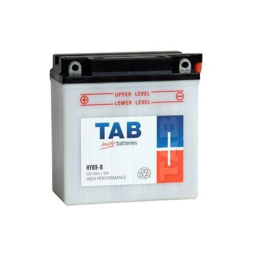Akumulatory do motocykli, Akumulator motocyklowy TAB YB9-B (HYB9-B) 12V 9Ah 100A L+