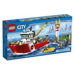 Lego City Łódź strażacka