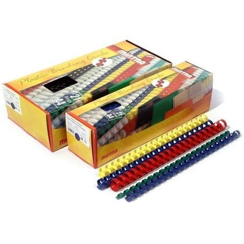 Grzbiety do bindownic, Grzbiety plastikowe do bindowania 28,5mm, 50szt.