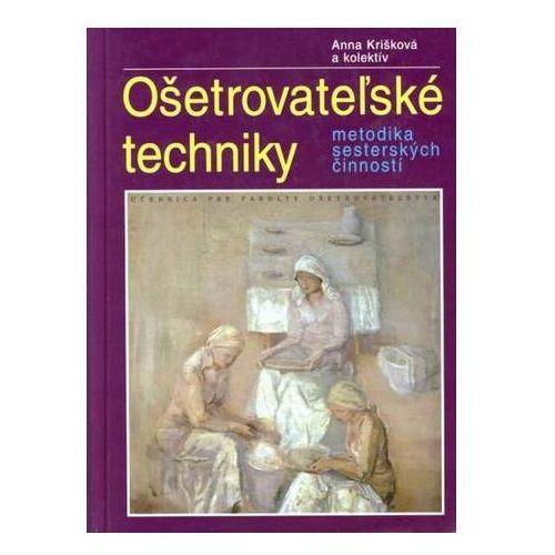 Pozostałe książki, Ošetrovateľské techniky Anna Krišková