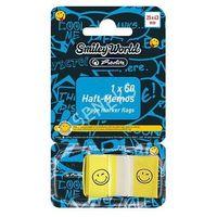 Karteczki, Karteczki samoprzylepne Smiley 25x43mm