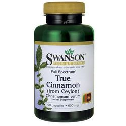 Full Spectrum True Cynamon cejloński 600mg 90 kaps.