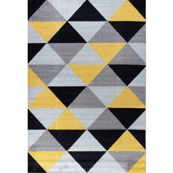 Dywan KOMFORT Desert Stream 07 140x200 Element żółty czarny szary