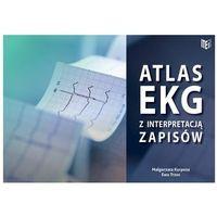Książki medyczne, Atlas EKG z interpretacją zapisów / Item Publishing (opr. miękka)